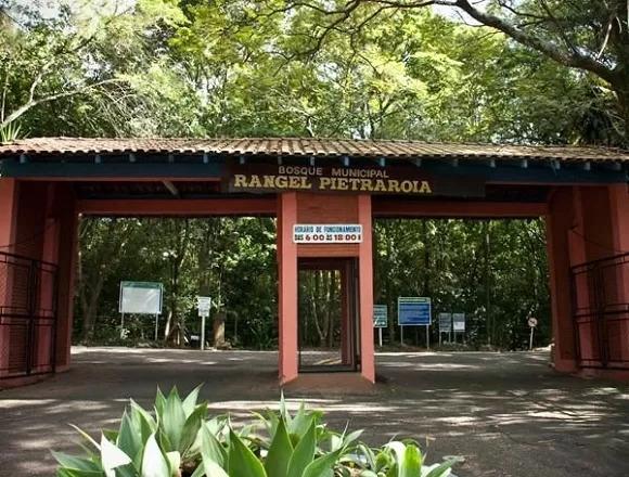 Entrada do Bosque de Marília