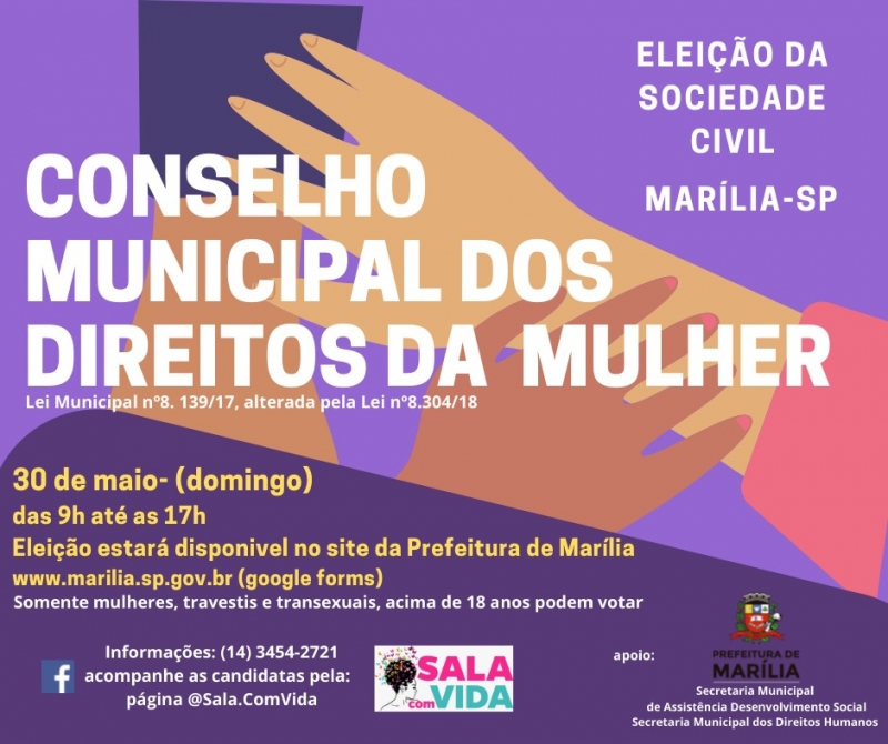 Noticia marilia-vai-eleger-no-proximo-dia-30-as-representantes-da-sociedade-civil-no-conselho
