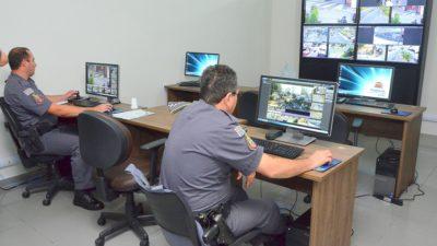 Imagens da Central de Videomonitoramento serão compartilhadas com o Comando do Policiamento em São Paulo