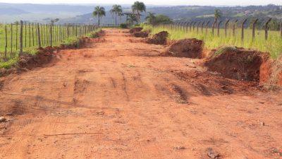 Prefeitura inicia nova etapa do Programa  Municipal de Recuperação das Estradas Rurais