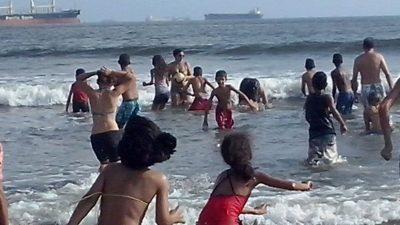 Alunos da Unidade do Pequeno Cidadão de Nóbrega viajam para Santos