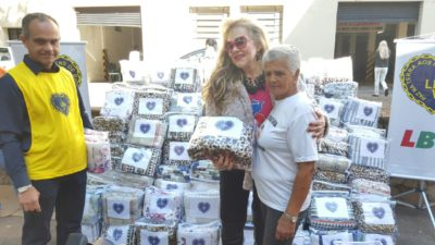 Campanha do Agasalho 2016:  LBV de Presidente Prudente repassa 300 cobertores para o Fundo Social