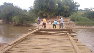 Prefeitura prossegue com o Programa  de Recuperação de Estradas Rurais e Pontes
