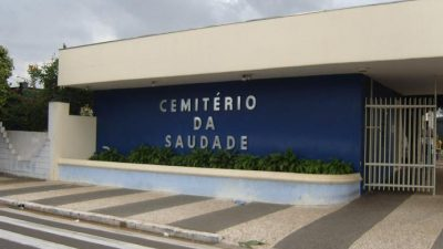 Finados: Cemitério da Saudade tem sistema informatizado para localização de túmulos