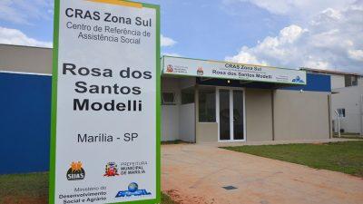 Marília tem inauguração do quinto CRAS
