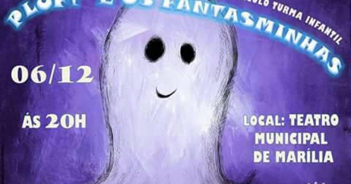 """Teatro da Cidade: Turma Infantil apresenta """"Pluft e os Fantasminhas"""""""