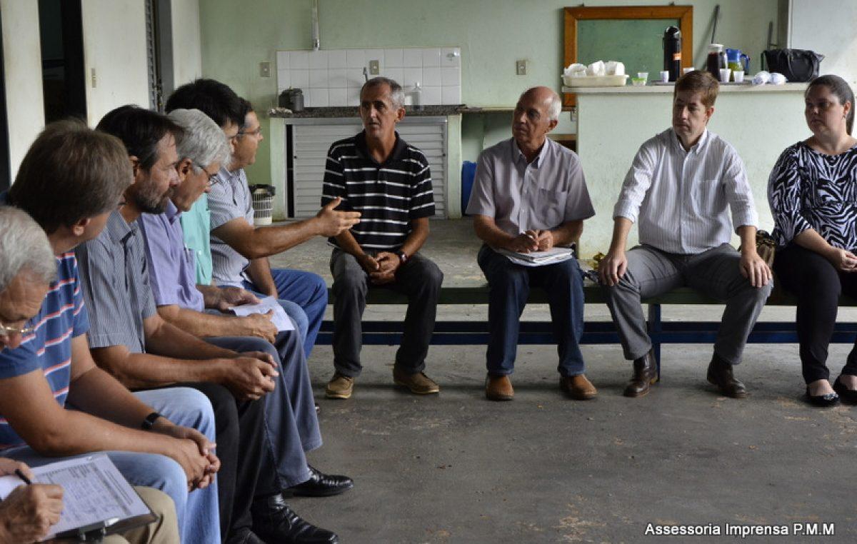 Secretário da Agricultura recebe entidades que apontaram problemas e ideias para a área rural de Marília