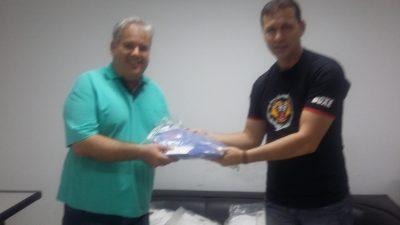 Secretaria de Esportes recebe 20 quimonos para o Projeto Social Esportivo