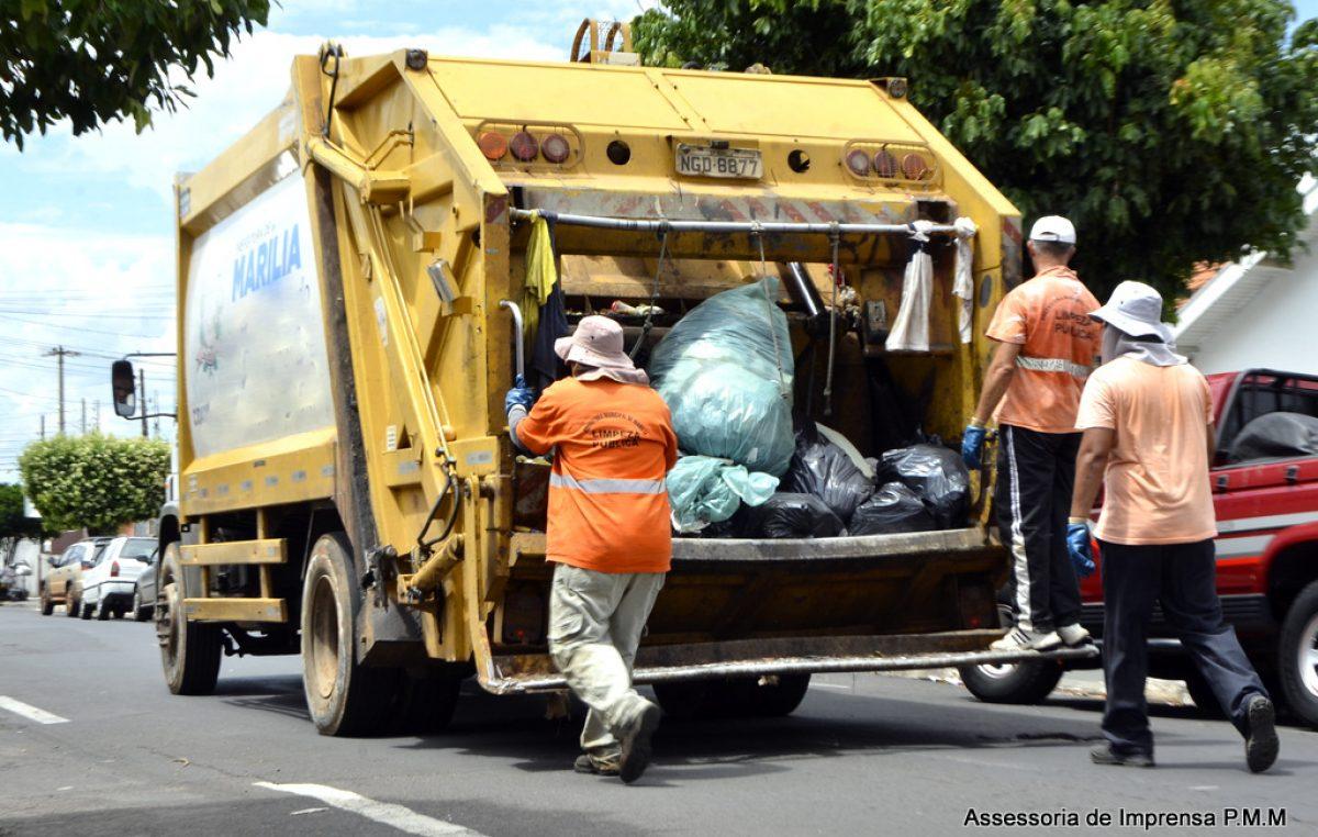 Meio Ambiente: cronograma da coleta de lixo no final de semana
