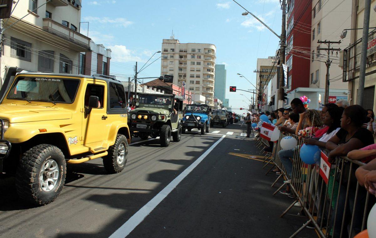 MARÍLIA 88 ANOS Desfile Cívico-Militar marca comemoração do aniversário da cidade