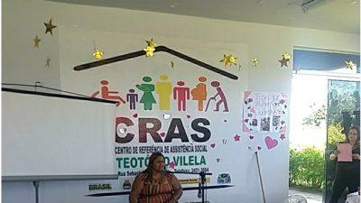 Juventude e Cidadania em parceria com outras secretarias fazem ações no CRAS Leonel Brizola e Teotônio Vilela.