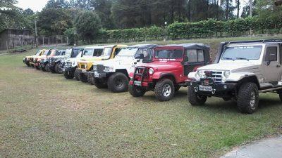 Jeep Clube adere à Campanha Marília em  Movimento e faz ação neste domingo