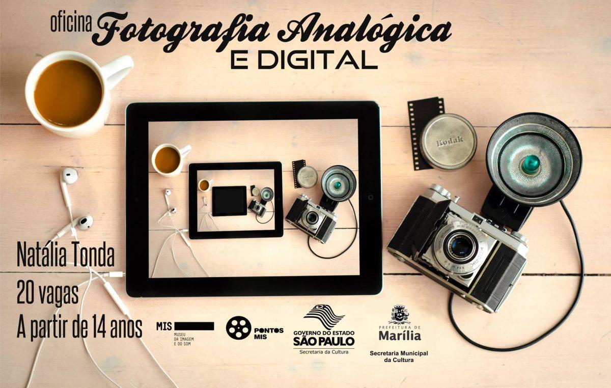 CULTURA ABRE INSCRIÇÕES PARA OFICINA DE FOTOGRAFIA