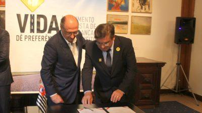 Prefeito Daniel Alonso participa de evento com o governador Alckmin, e é porta voz de onze municípios.