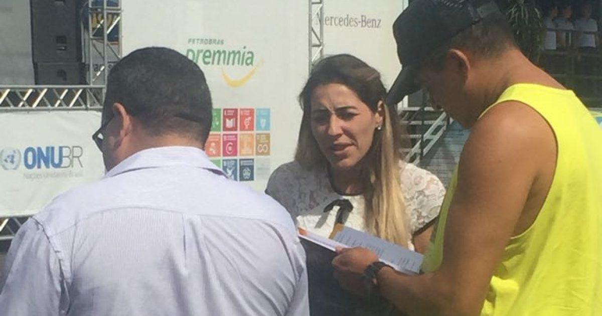 """Juventude e Cidadania participa da """"Caravana Siga Bem Caminhoneiro"""""""