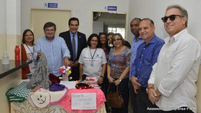 Secretário do Ministério da Saúde para Gestão do Trabalho e Educação na Saúde, Rogério Luiz Zeraik Abdalla, visita a unidade ESF de Lácio.