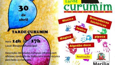 "Domingo tem ""Tarde Curumim"" no Bosque Municipal, programe-se!"
