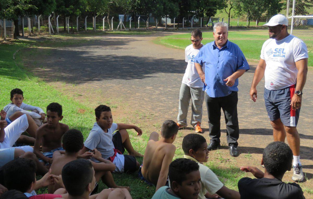 Projeto Novos Talentos proporciona inclusão social pelo esporte
