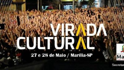 Marília recebe Virada Cultural dias 27 e 28 de maio