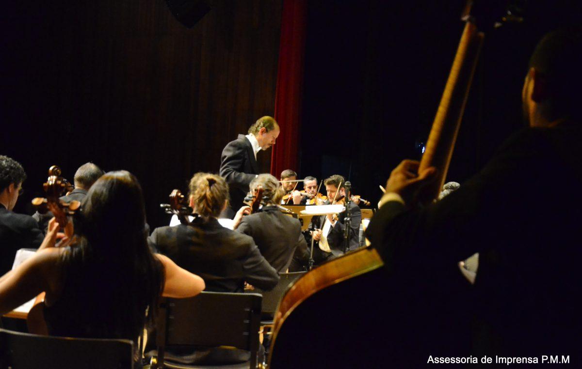 Orquestra Sinfônica de Marilia: Concerto reúne mais de 800 pessoas.