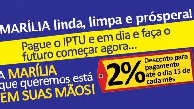 Pague o IPTU