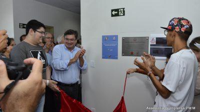 Reinauguração da quimioterapia pediátrica da Santa Casa