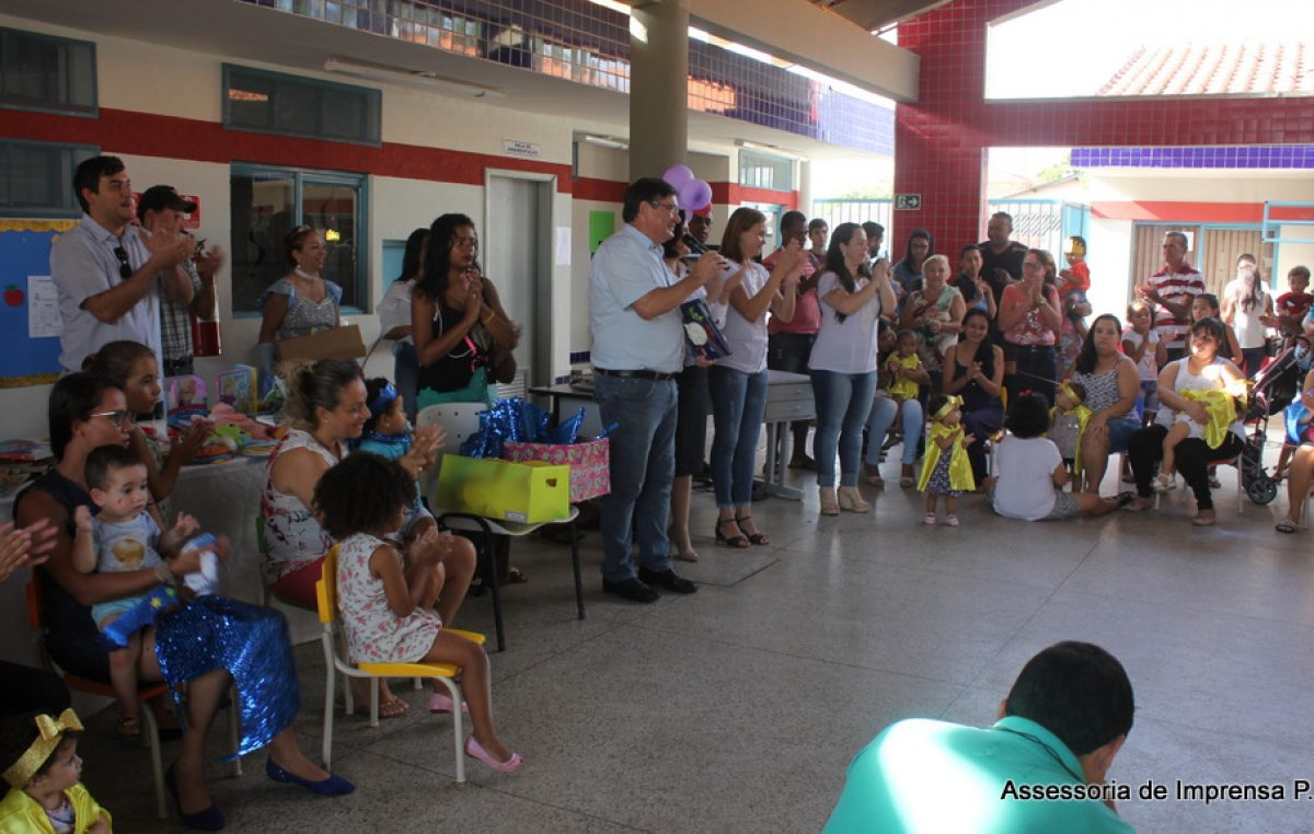 Educação municipal instala 'Bebeteca' na  Emei Marina Betti Cezar.