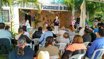 Caps Conviver promove Festa Junina. Evento marca os 14 anos da instalação do serviço
