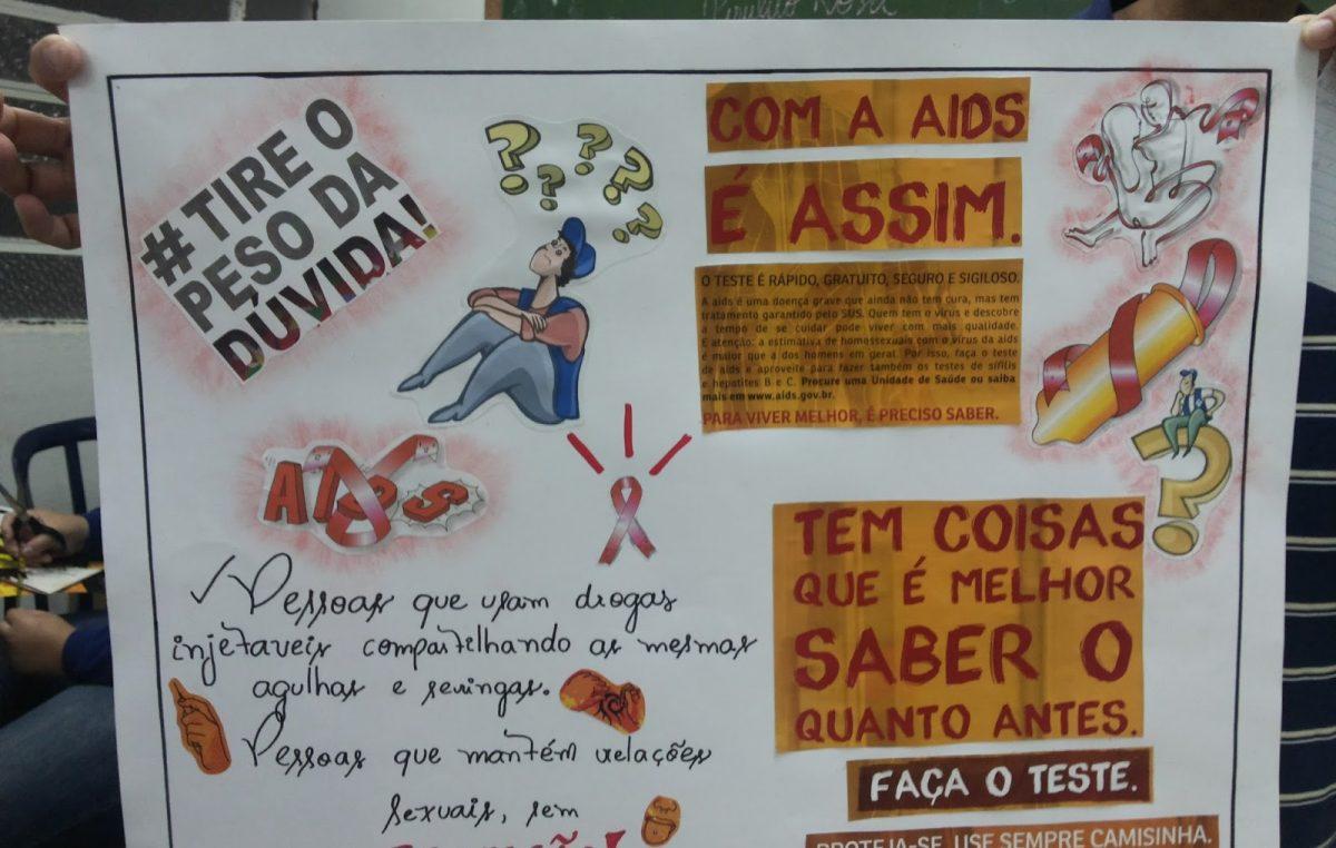 Saúde prepara ação com grêmios estudantis para levar prevenção a estudantes