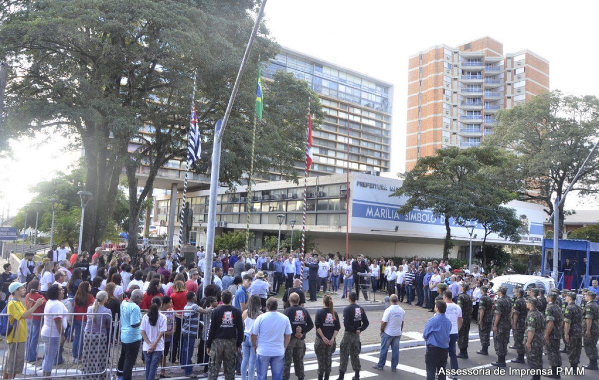7 DE SETEMBRO: Por contenção de gastos, desfile será substituído por ato cívico no paço municipal