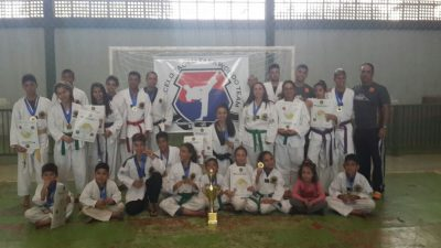 Projeto Bebela de Taekwondo conquista primeiro lugar na Copa ABAMC