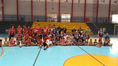 Marília Basquete/ Colégio Cristo Rei/SEL participa de evento em Bauru