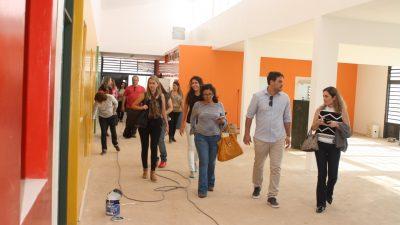 TRANSPARÊNCIA: Conselho Municipal de Educação visita obras; duas novas Emeis serão entregues