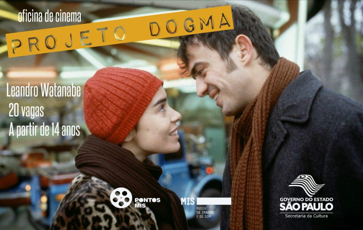 Inscrições abertas para oficina de cinema Projeto Dogma
