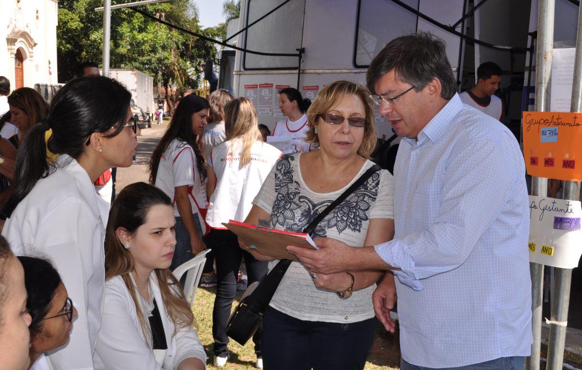 Durante o Cejusc Itinerante em Nóbrega, Saúde realiza 89 testes rápidos e dezenas de serviços