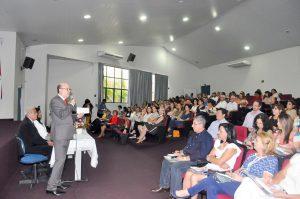 Sílvio Graboski de Oliveira, em seminário recente pela Undime/SP, na cidade de Presidente Prudente.