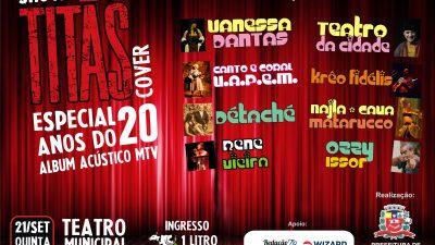 Evento homenageia o rock nacional com cover do Titãs