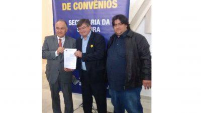 Prefeitura assina convênio com Governo do Estado para a área da cultura
