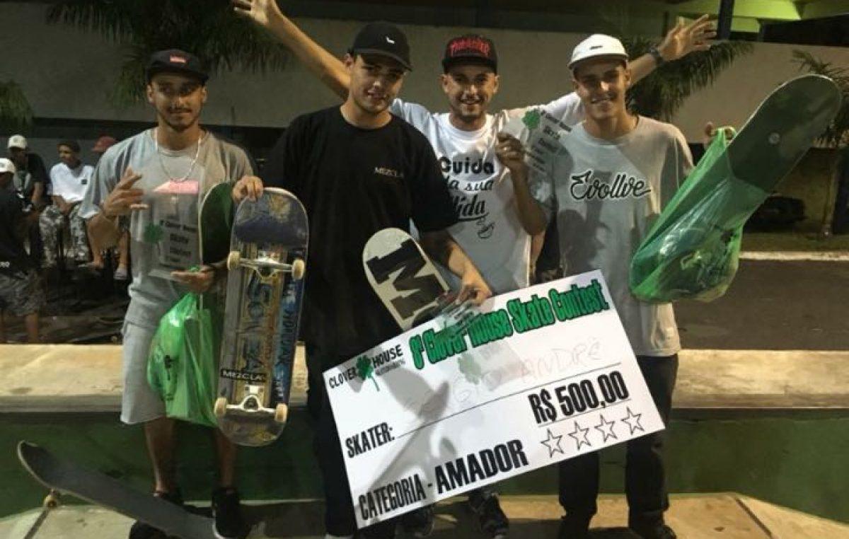Skate mariliense é destaque em Dracena