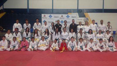 Graduação dos alunos de Taekwondo do Projeto Social Esportivo da SELJ aconteceu no domingo
