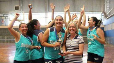 Sub-21 Marcelets leva o título do Municipal de Basquete feminino