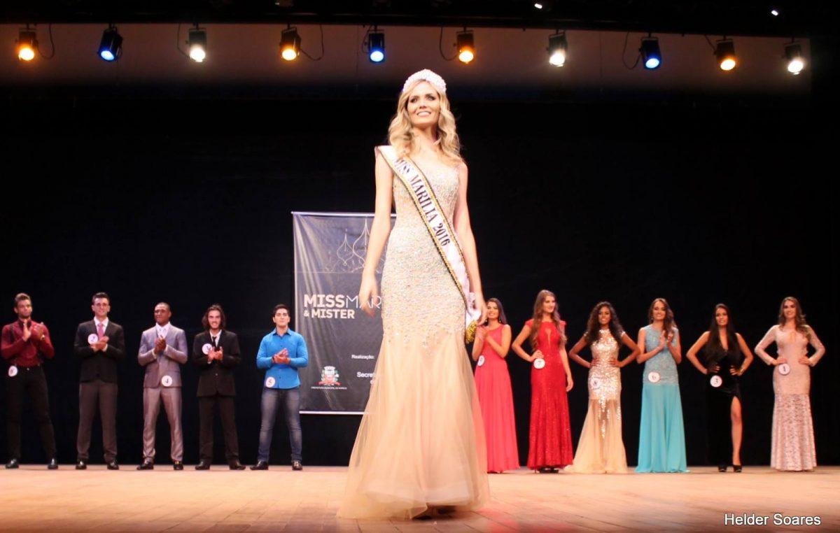 Miss Marília divulga programação do evento