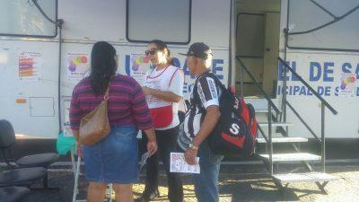Saúde municipal participa da abertura do Carnaval e foca na prevenção a ISTs/Aids