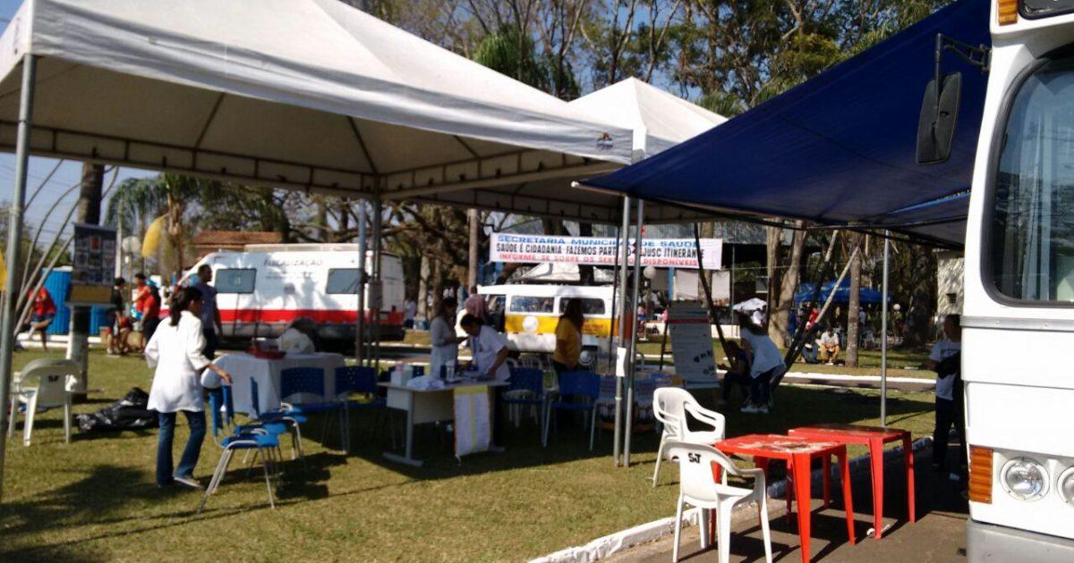 Prefeitura de Marilia participa do Cejusc Itinerante com o Caoim e Divisão de Zoonoses no distrito de Rosália