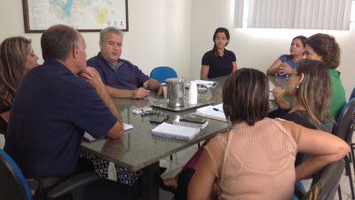 Reunião defini parceria com a Secretária Municipal da Saúde para Jogos Regionais