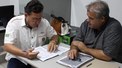 Chefe dos Jogos Regionais se reúne com equipe da SELJ Marília