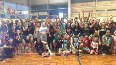 """Equipe """"Os Largados"""" conquista o Campeonato Municipal de Basquete"""
