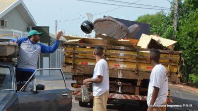 Para encerrar, Mutirão de Limpeza atende quatro distritos esta semana