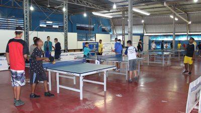 Festival de Tênis de Mesa reúne 12 escolas na Selj