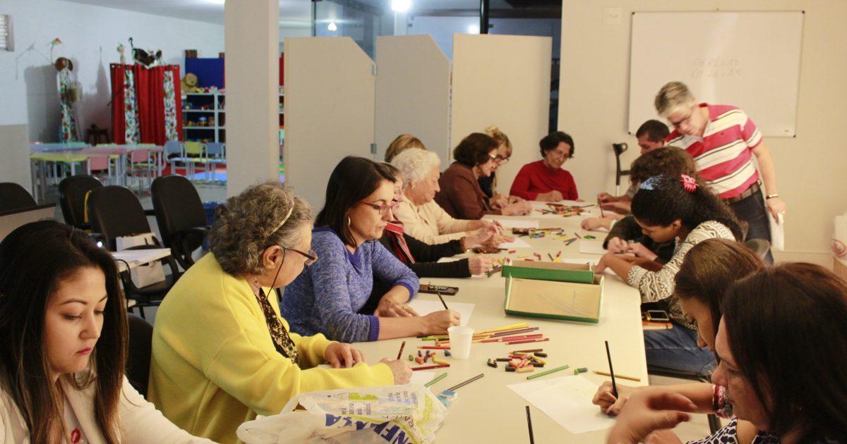 Prefeitura faz parceria com o Senac no Programa Arteterapia da Biblioteca